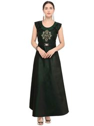 Heavy Tapeta Party Wear Stylish Handwork Gown