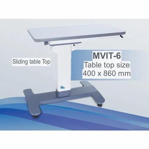 Mvit 6 Sliding Ophthalmic Instrument Table