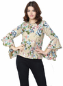 Printed Ruffle Top Wholesaler Delhi