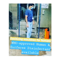 Human Sanitizing Machine
