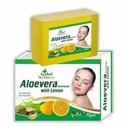 Aloe Vera Lemon Soap ( Hydrate and Luminous Skin)