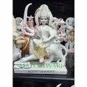Durga Mata Marble Statue