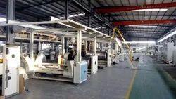 Automatic 3 Ply Corrugated Board Plant
