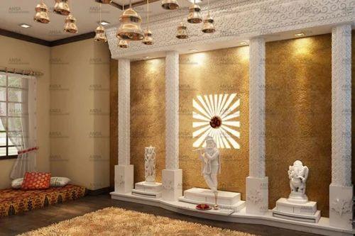 mandir design interior decoration service in mayapuri phase i new