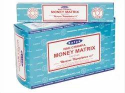 Satya Nag Champa Money Matrix Incense Sticks