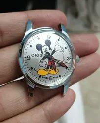 Round Analog Oris ST 96 Men Wrist Watch