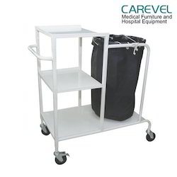 Carevel Linen Trolley With Three Shelves