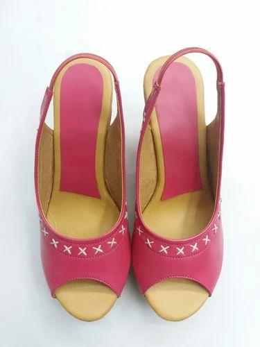9e56d387ef6321 Women Rexine Girls Designer Sandal