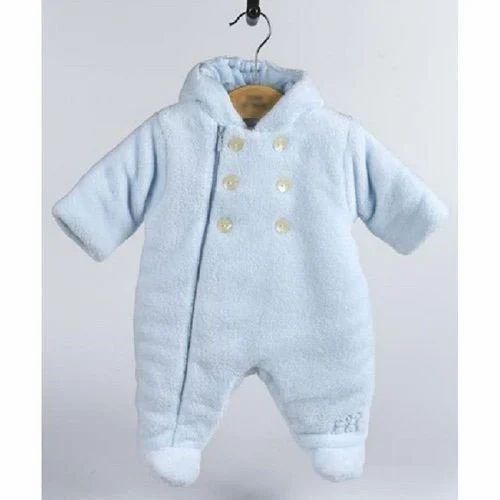 146e7ef56 Cotton Newborn Baby Boy Winter Romper Suits