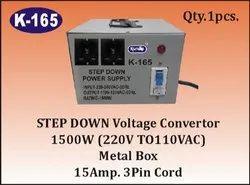 K-165 Step Down Power Supply