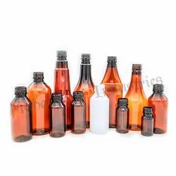 Pharmaceutical Amber Pet Bottle