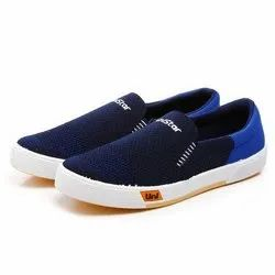 Mens Navy Blue Sneaker Canvas Shoes