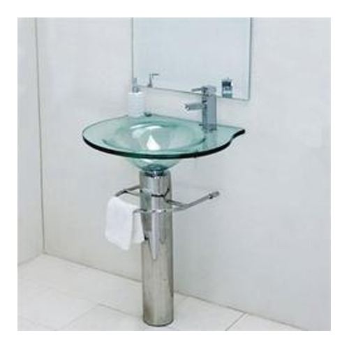 Glass Hand Wash Basin, Glass Basin - My Moon Trader, Madurai | ID ...