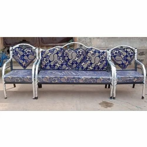 Ssv Furniture Modern Designer Steel Sofa Set Hall Rs 4499 Set Id 21158823455