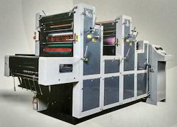 Two Colour Sheet Fed Offset Printing Machine