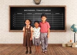 SUMMER, WINTER OSCAR School Uniforms, For Daily Use, SMALL TO XXL