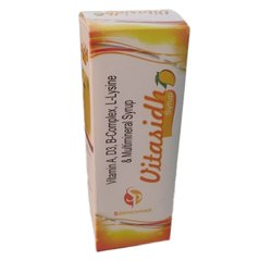 Liquid Vitasidh Syrup, Packaging Size: 200 mL