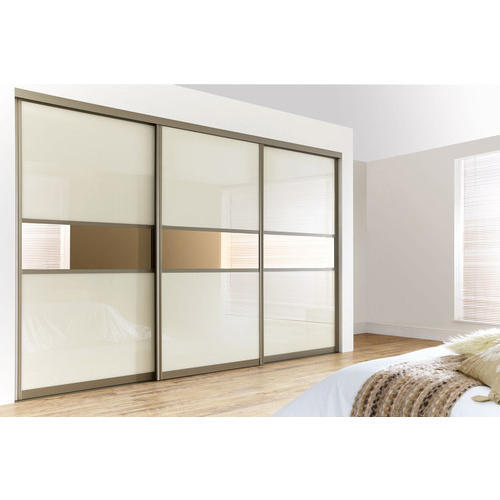White Interior Upvc Wardrobe Door