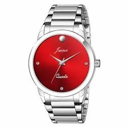 Jainx Red Dial Analog Watch for Men & Boys JM346