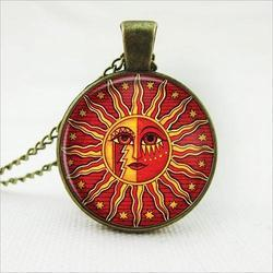 Sun Pendant For Men And Women
