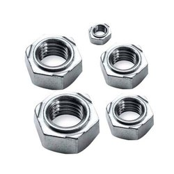 Ms Natural WELD NUT, Hexagon, Packets
