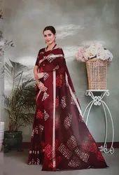 Printing Women Saree