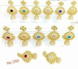 Gold Plated Party Wear Earring