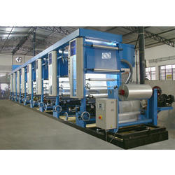 Commercial Rotogravure Printing Machine