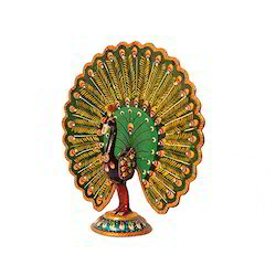 Mahesh Handicraft Wooden Peacock, For Home
