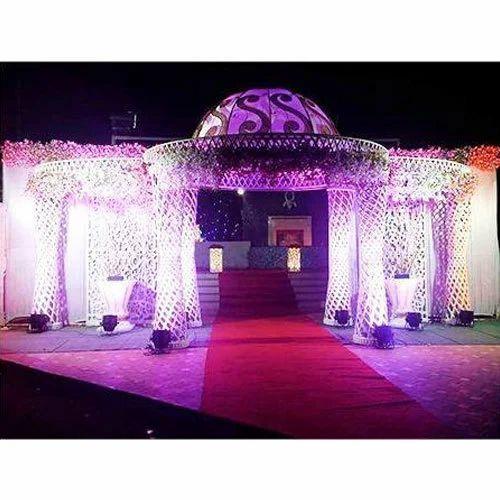 Designer Fiber Wedding Entrance