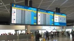 Flight Information LED Video Display System