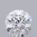 0.90ct Lab Grown Diamond CVD D VVS2 Round Brilliant Cut IGI Crtified Type2A