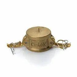 Brass Camlock Dust Cap