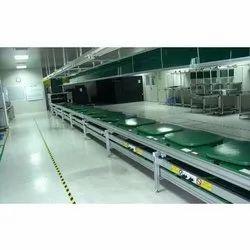 Battery Assembly Line Conveyor