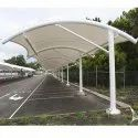Membrane Tensile Structures For Vehicle Parking Shed