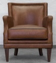 Vintage Chestnut Leather Chair