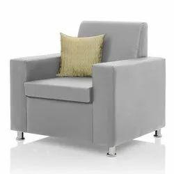 1 Pillow Back Single Seater Sofa
