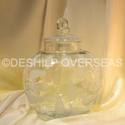 Deshilp Overseas Clear Jar With Lid