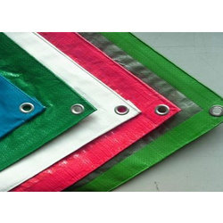 Colored Tarpaulin Sheet