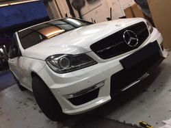 Mercedes Benz C Class W204 Amg Look Conversion Body Kit