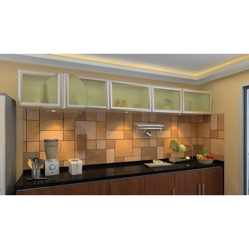 Aluminium Frame Kitchen Cabinet At Rs 800 Square Feet Nampally