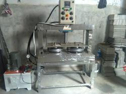 Manual Double die Paper Plate Machine