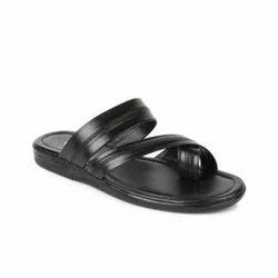 Coolers Mens Black Slippers