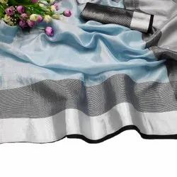 Original Tissue Linen Saree