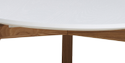 Orient Coffee Table - White