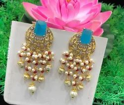 Color Stone Earring