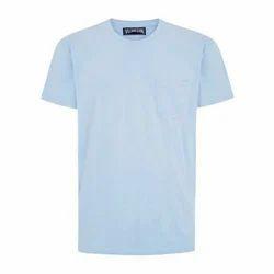 Cotton Small Men Plain T Shirt
