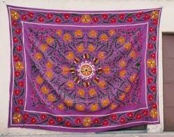 Cotton Square Handmade Embroidered wall hangings, Size: 60*60
