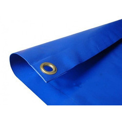 Blue Fire Retardant Tarpaulin, Size: 60m, For Fire Protection