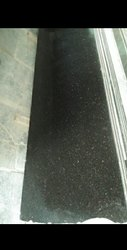 Polished Big Slab Black Galaxy Granite, Thickness: 15-20 mm